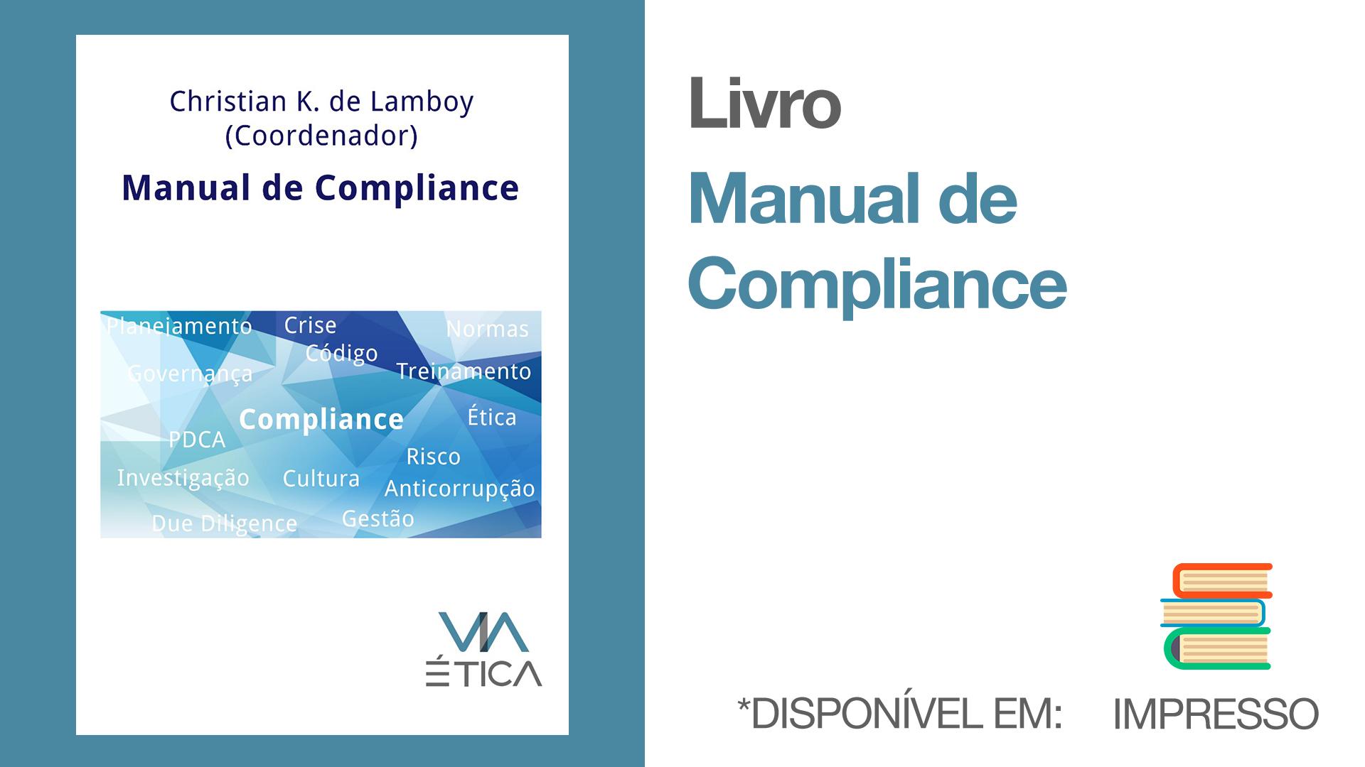 Livro Manual de Compliance