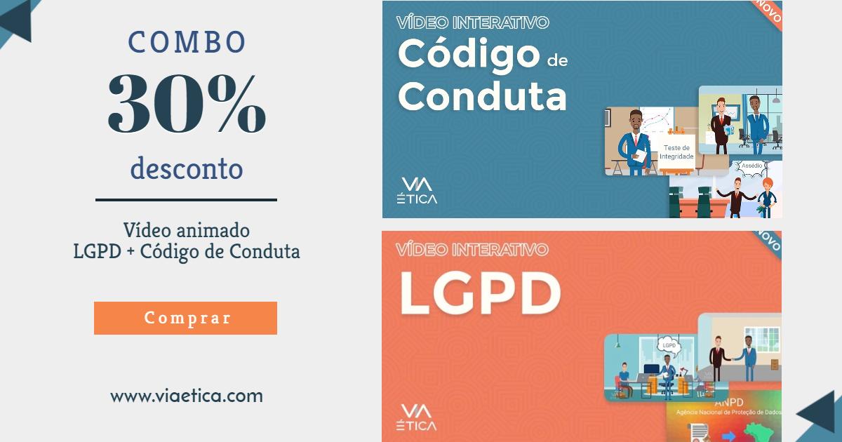 Combo - 2 Vídeos Animados Código de Conduta+LGPD