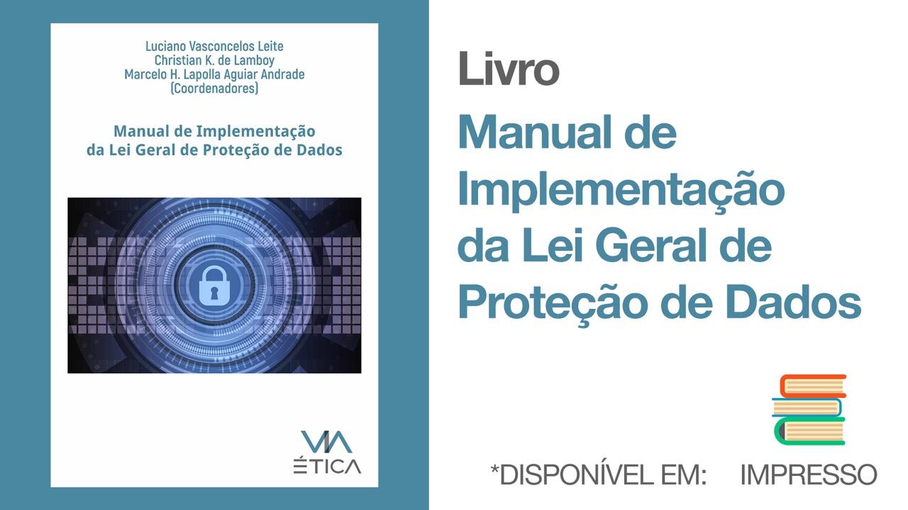 Livro Impresso - Manual de Implementação LGPD