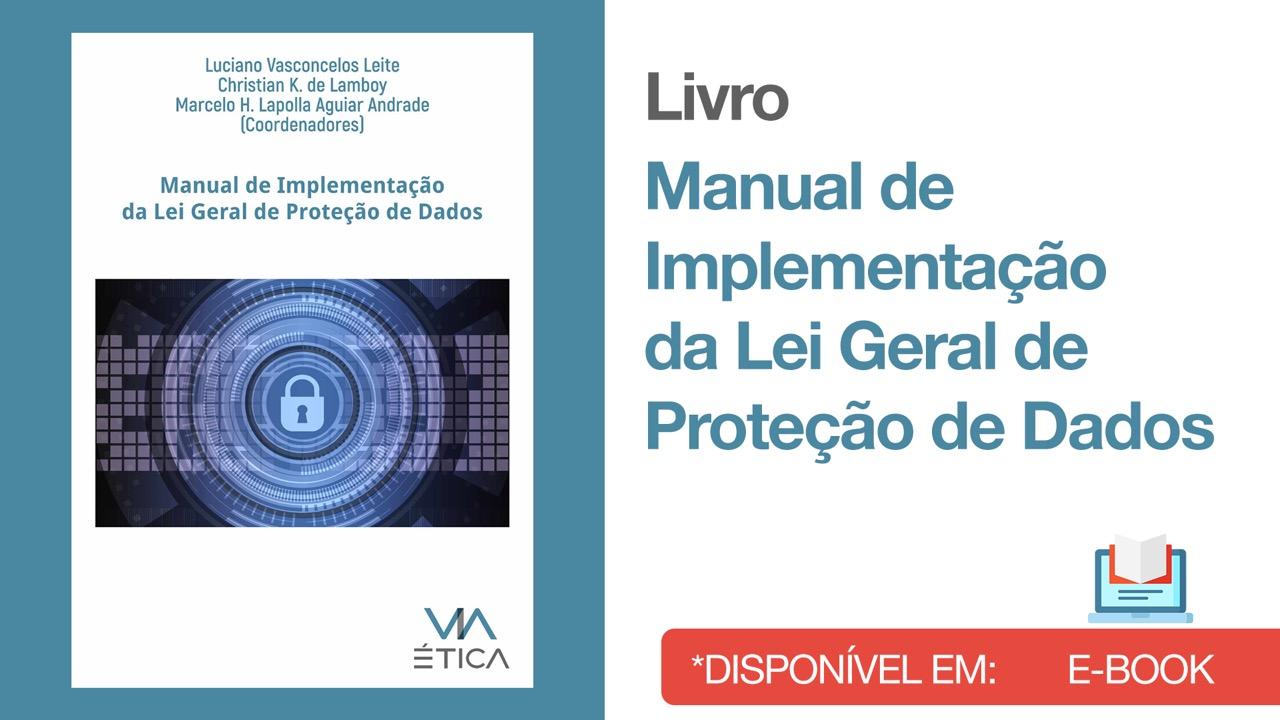 Livro Ebook - Manual de Implementação LGPD