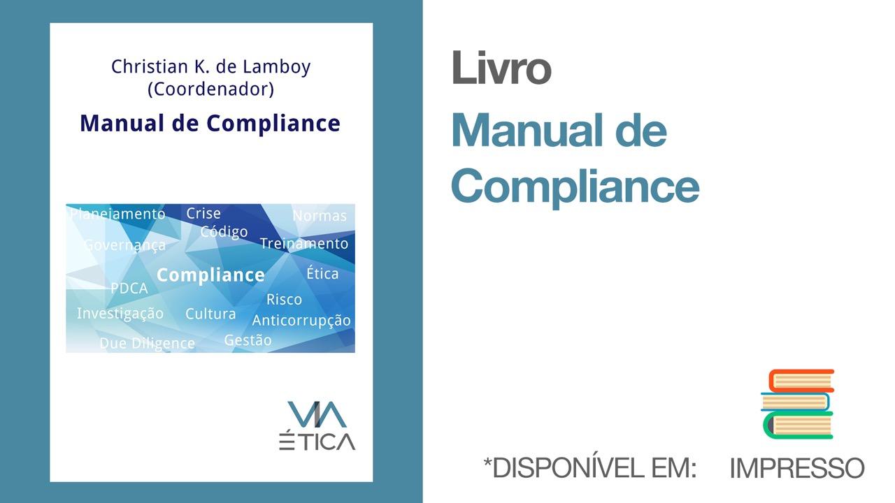 Livro Impresso - Manual de Compliance