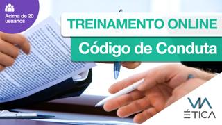 Treinamento Online Código de Conduta - acima de 20 usuários (consultar)