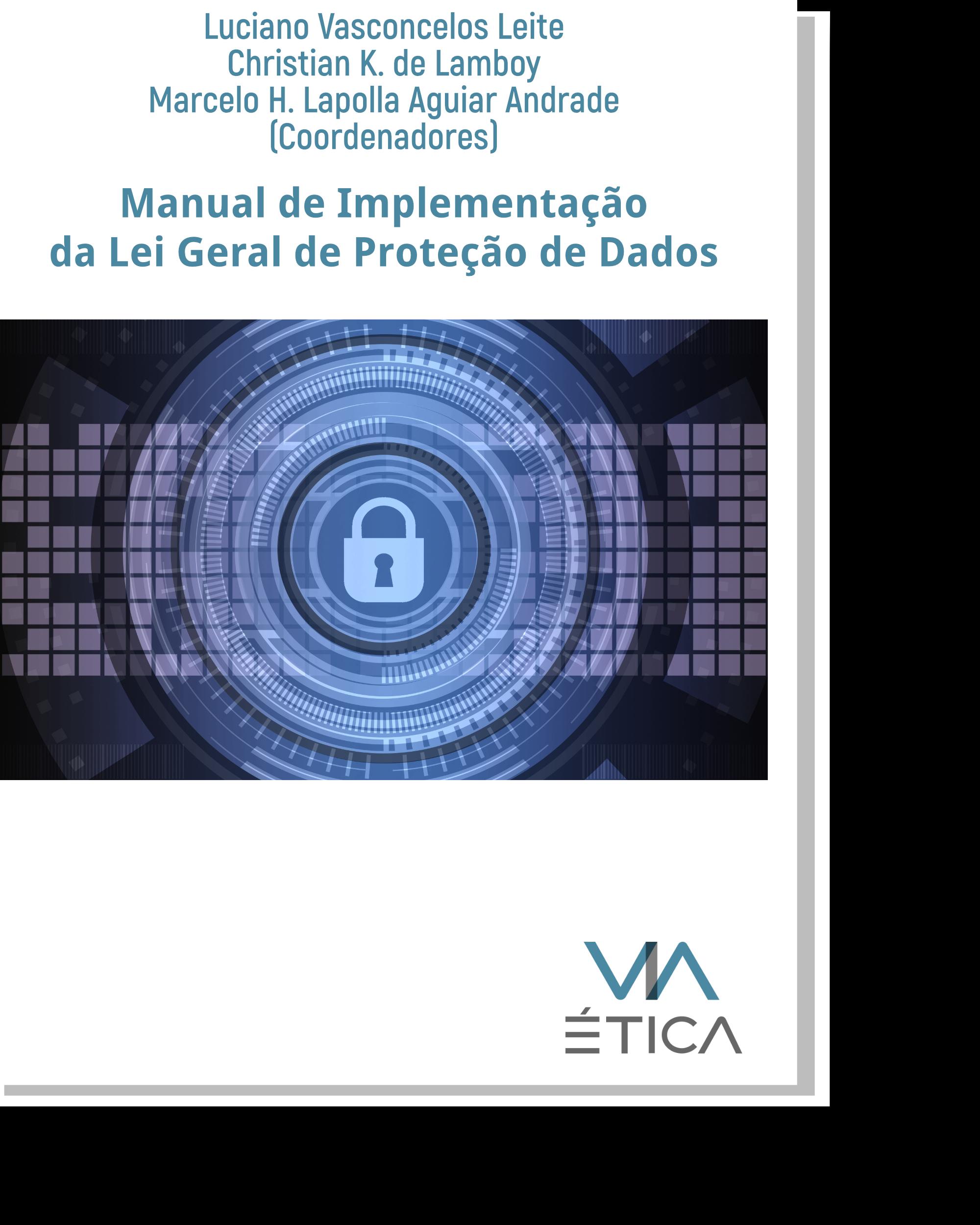 Manual de Implementação da Lei Geral de Proteção de Dados - impresso Image